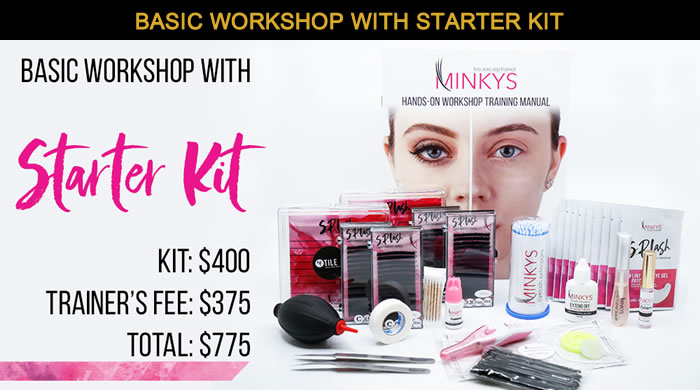 Minkys Basic Workshop with Starter Kit